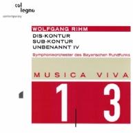 Wolfgang Rihm - Dis-Kontor, Sub-Kontur