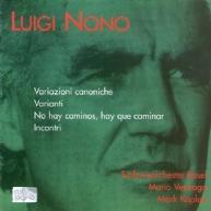 Luigi Nono - Varianti (violin concerto)