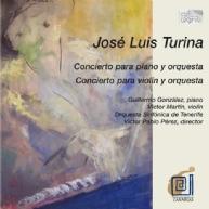 José Luis Turino - piano concerto & violin concerto